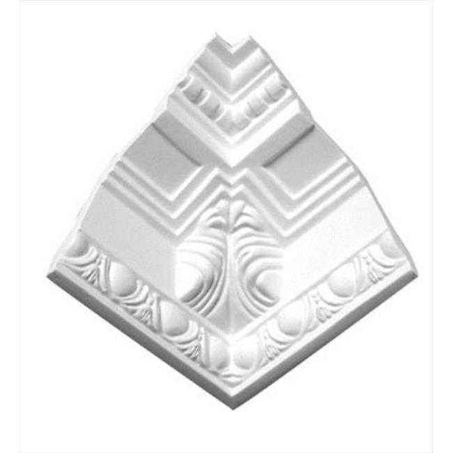 American Pro Decor 5APD10098 5.25 in. Acanthus Leaf Corbel With Egg And Dart Crown Moulding Inside Corner