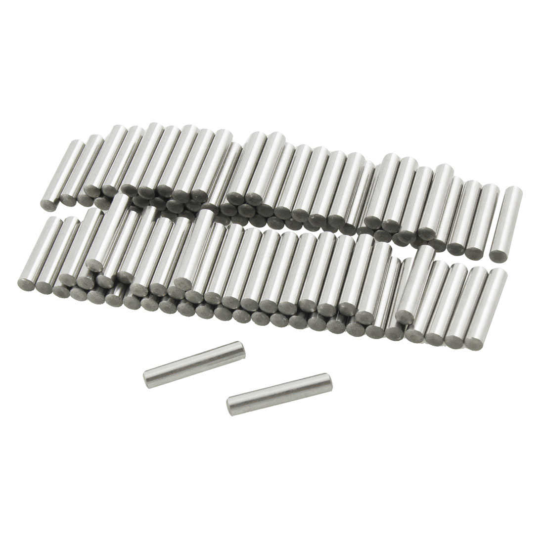 Unique Bargains 100 Pcs 2.8mm x 15.8mm Parallel Dowel Pins Fasten Elements