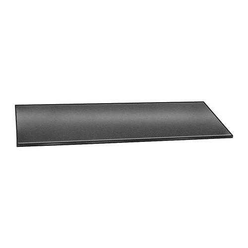 E. JAMES 1/16' Comm. Grade Neoprene Rubber Strip, 4'x36', Black, 60A, 6060-1/16Y