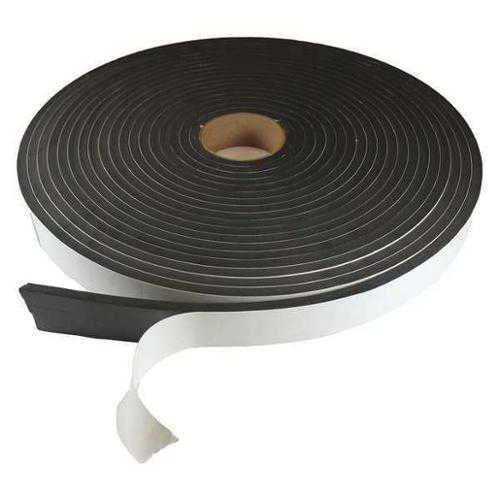 CNES593/83/850T Sponge Roll, Rubber, 3/8x3/8 In, 50 Ft.