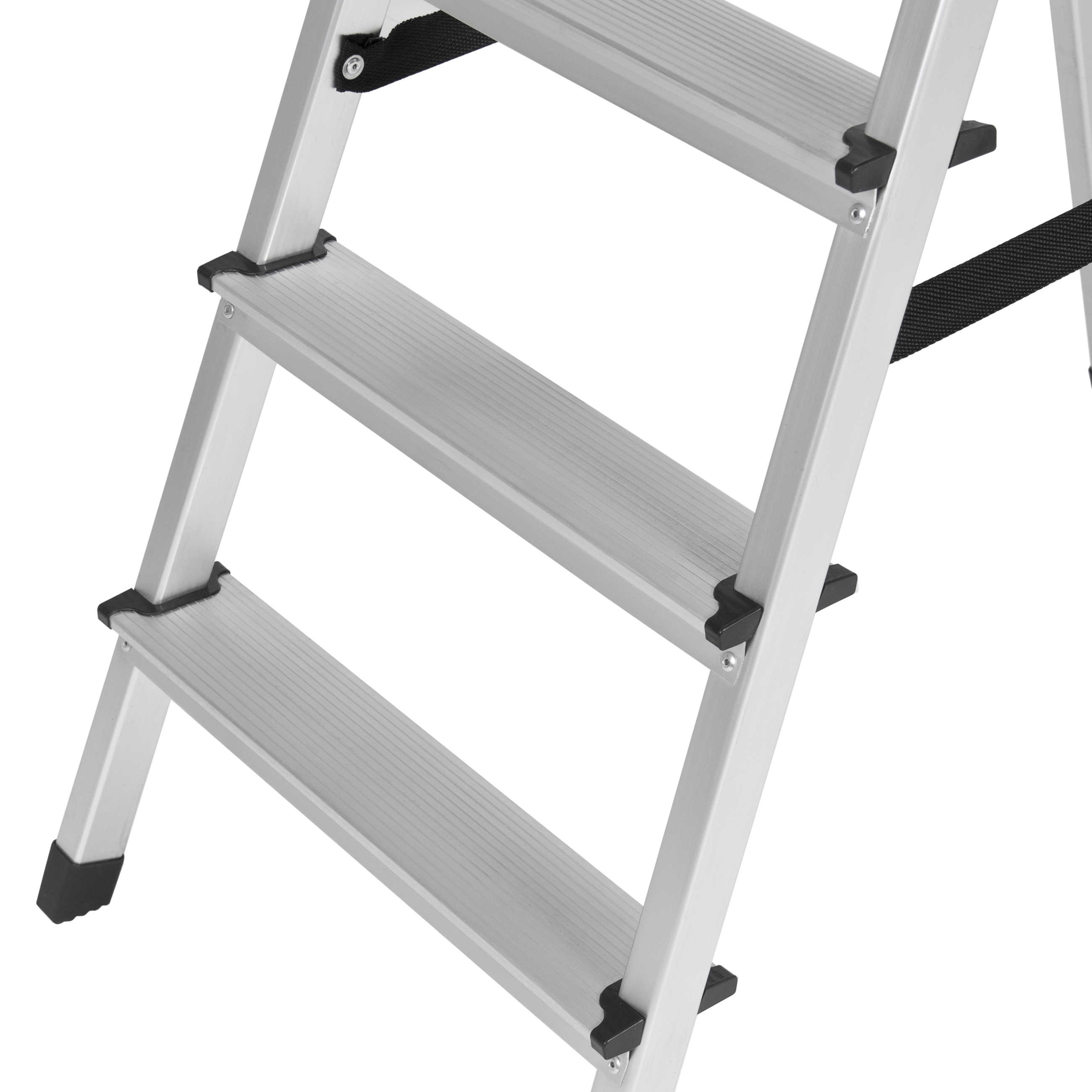 Best Choice Products BCP 300lbs Aluminum Foldable 5 Step Non-slip Ladder Lightweight Kitchen Garage