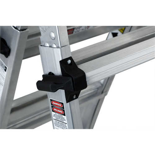 Louisville Ladder L-2098-22 22 ft. Aluminum Multi-Purpose Ladder, Type IA, 300 lbs. Load Capacity