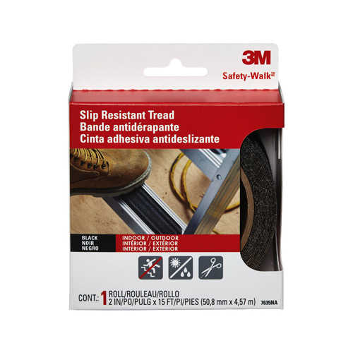 3M COMPANY 7639 6PK2x9 Step Tread Strip