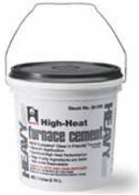 HERCULES 35515 Furnace/Stove Cement,High Temp.,1/2 gal. G1578020