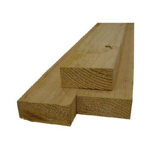 Alexandria Moulding 102X3-WS096C Wood Stud, 2 x 3-In. x 8-Ft.