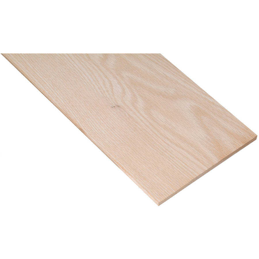 Waddell PB19508 1/4' x 3-1/2' x 48' Oak Project Board