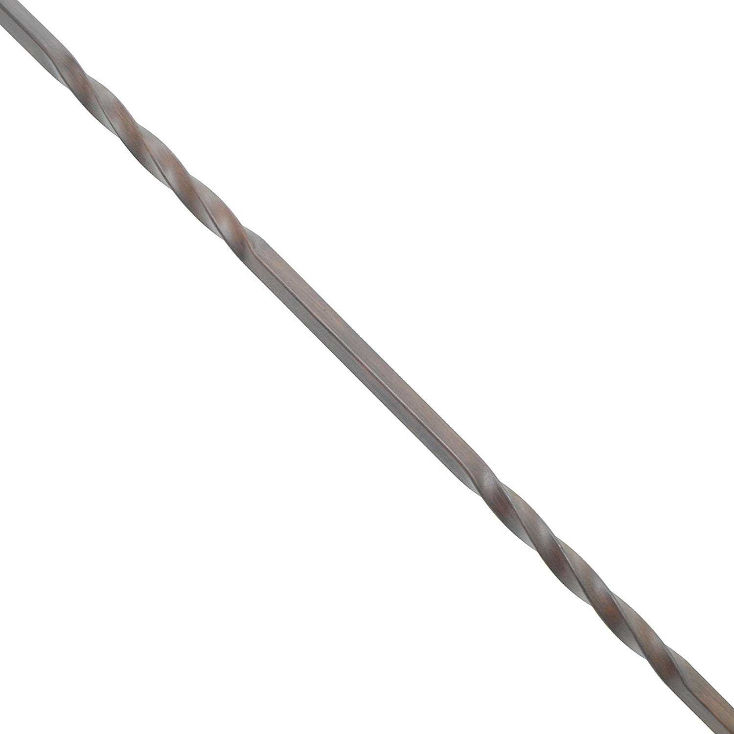Aleko Oil Rubbed Bronze Baluster - 44-Inch - Double Twist Design - Pack of 10