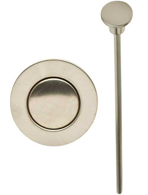 PF WaterWorks PF0776 EasyPopUp Drain Trim Kit, Brushed Nickel