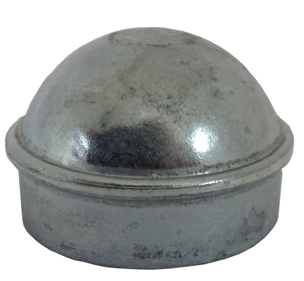 1-3/8' Chain Link Fence Post Cap - Use for 1-3/8' Outside Diameter Post/Pipe - Aluminum Chain Link Post Cap