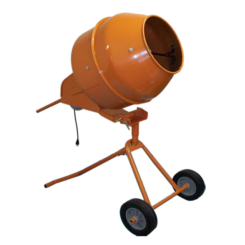 8 Cubic Ft. Tall Portable Cement Mixer Concrete Mortar Mixer