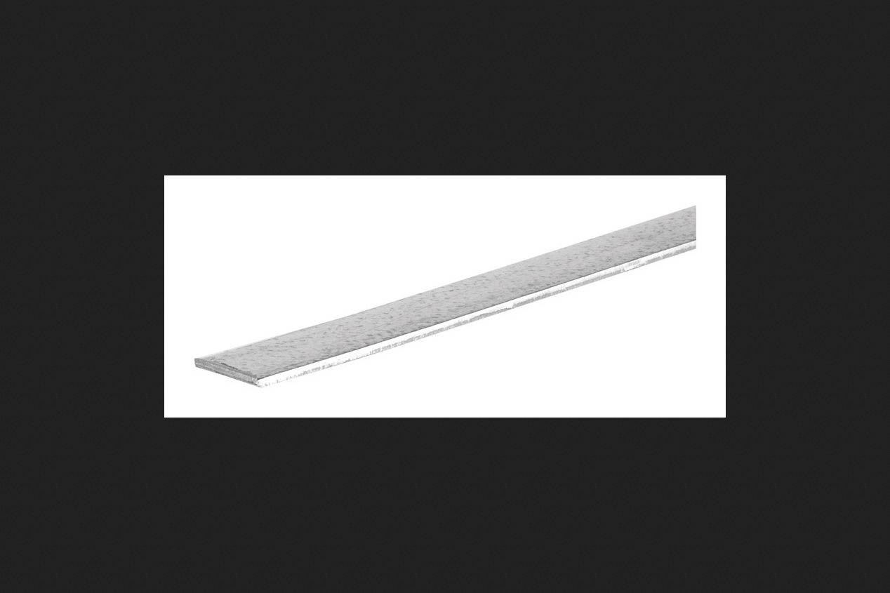 Boltmaster Flat Bar 1/8 in. x 1 in. x 48 in. 12 Ga Galvanized Steel