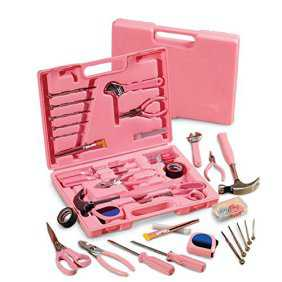 Pink Homeowner's Tool Set, 105Pc