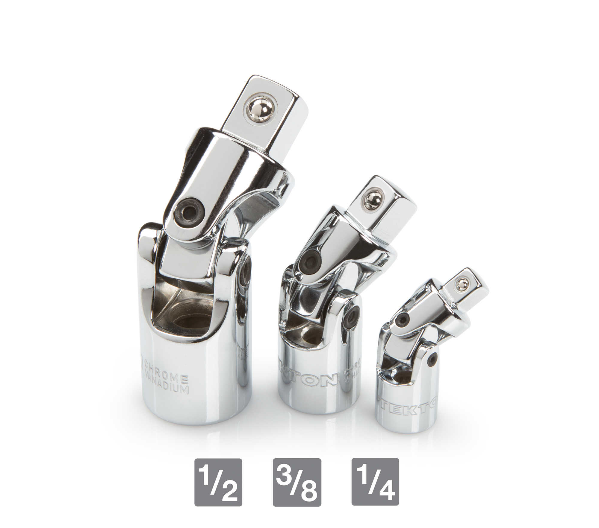 TEKTON Universal Joint Set, 3-Piece | 14391