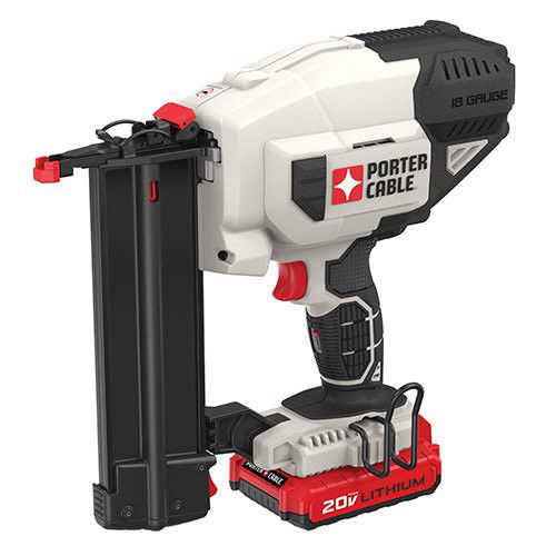 Factory-Reconditioned Porter-Cable PCC790LAR 20V MAX Lithium-Ion 18 Gauge Brad Nailer Kit(Refurbished)