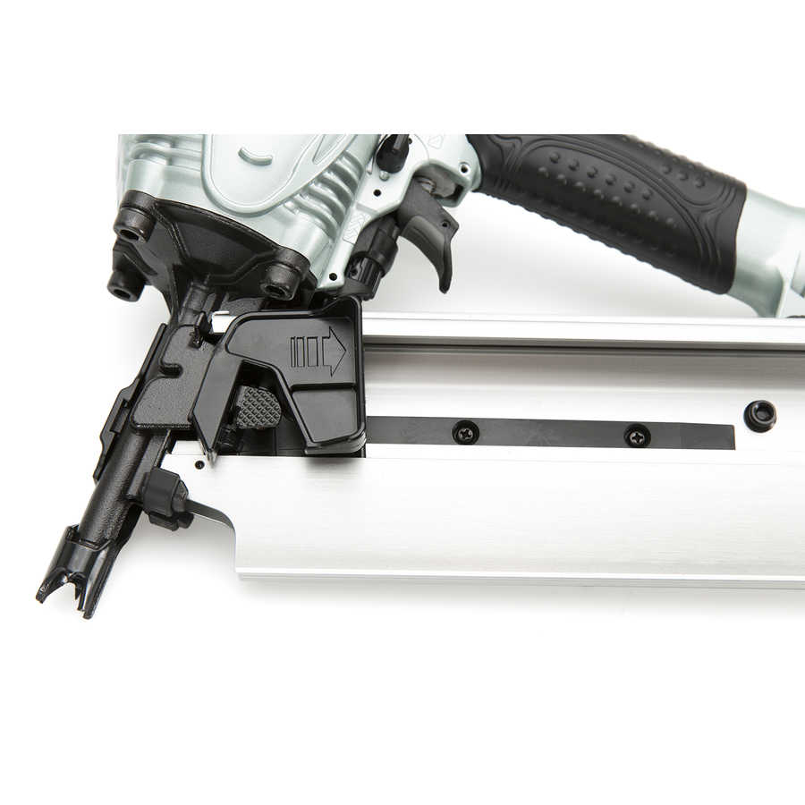 HITACHI NR90AES1 Factory Reconditioned 2' to 3-1/2' Plastic Collated Framing Nailer Nail Gun Framer