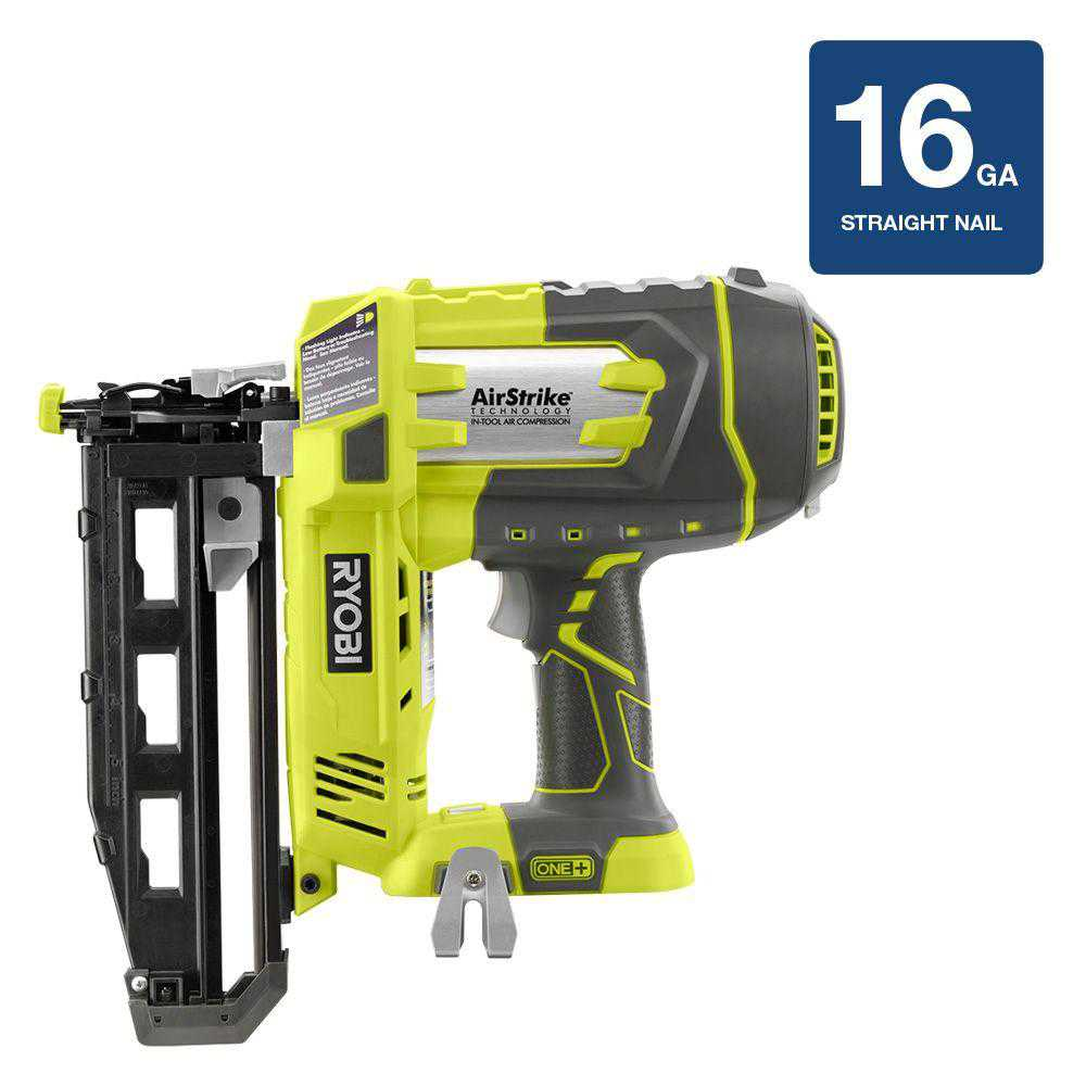 Ryobi ZRP325 ONEplus 18V Cordless Lithium-Ion 16-Gauge Finish Nailer (Tool-Only) (Certified Refurbished)