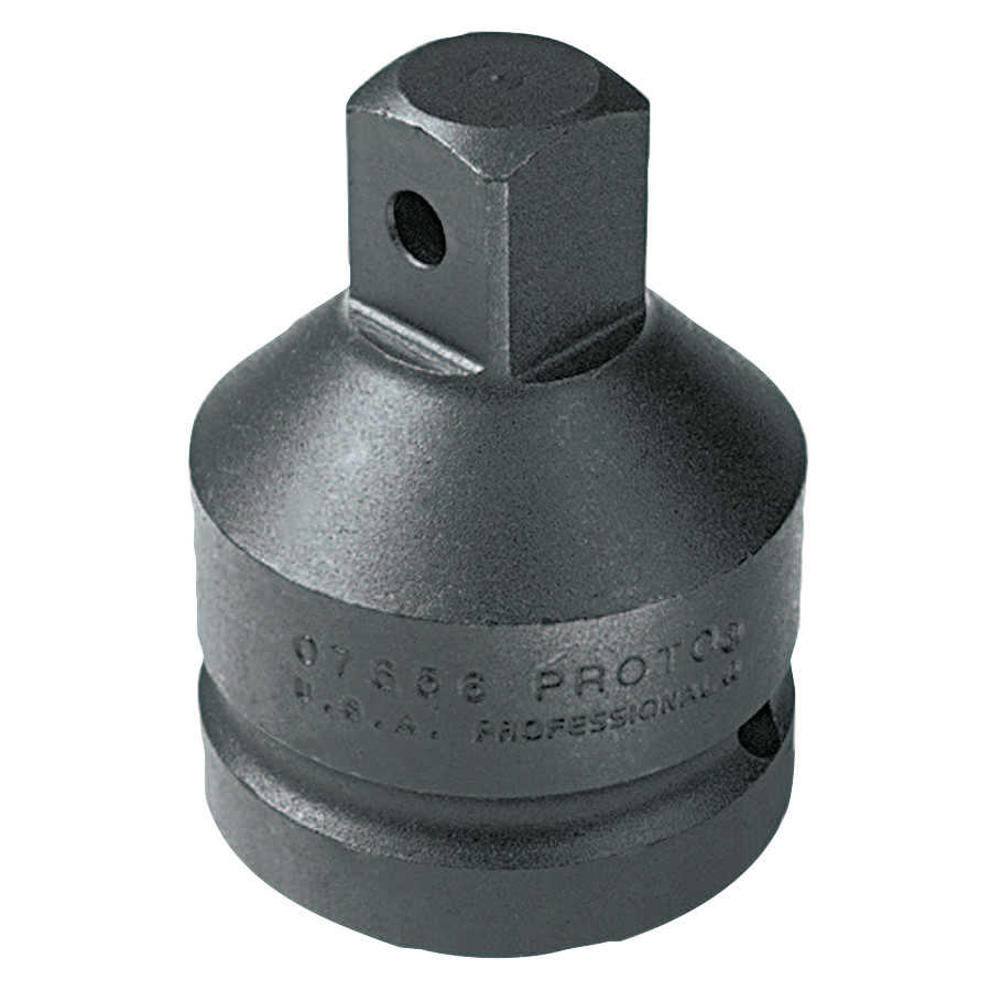 Proto Impact Socket Adapters, 1 in (female square); 3/4 in (male square) drive, 2 7/8'