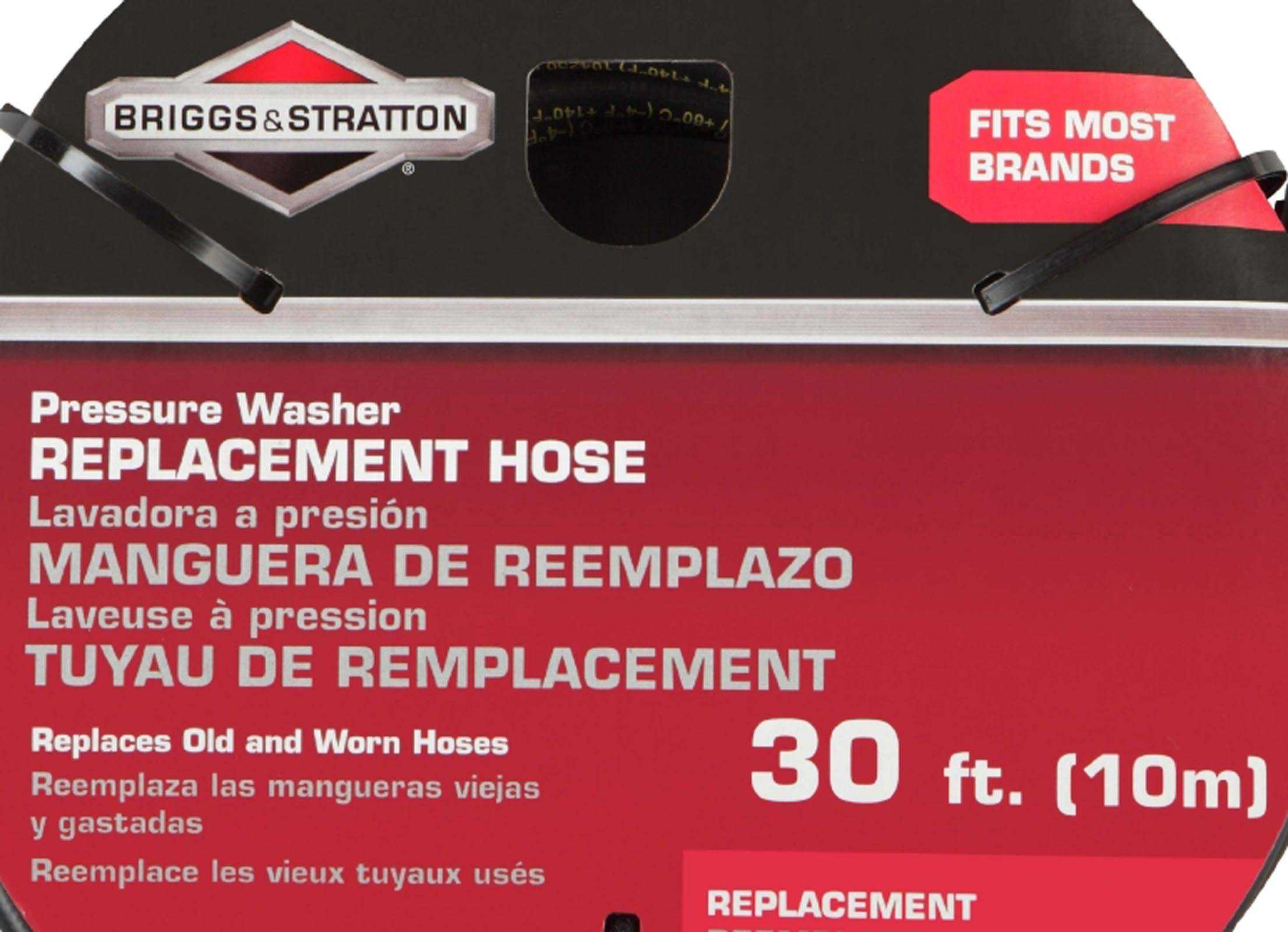 Briggs and Stratton Pressure Washer Hose