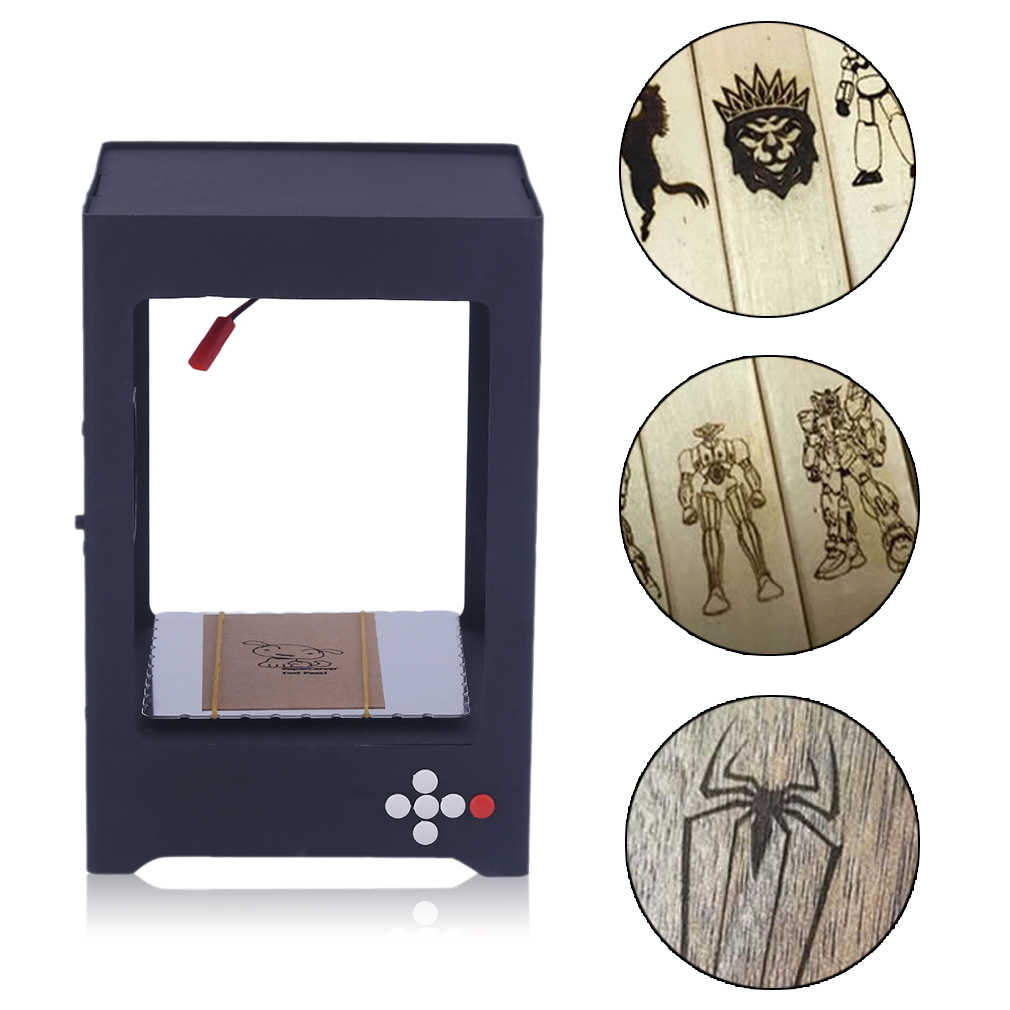 1000mW Practical USB Laser Engraving Machine Engrave Marking DIY Alloy Cutting Engraving Machine(U.S. regulations)