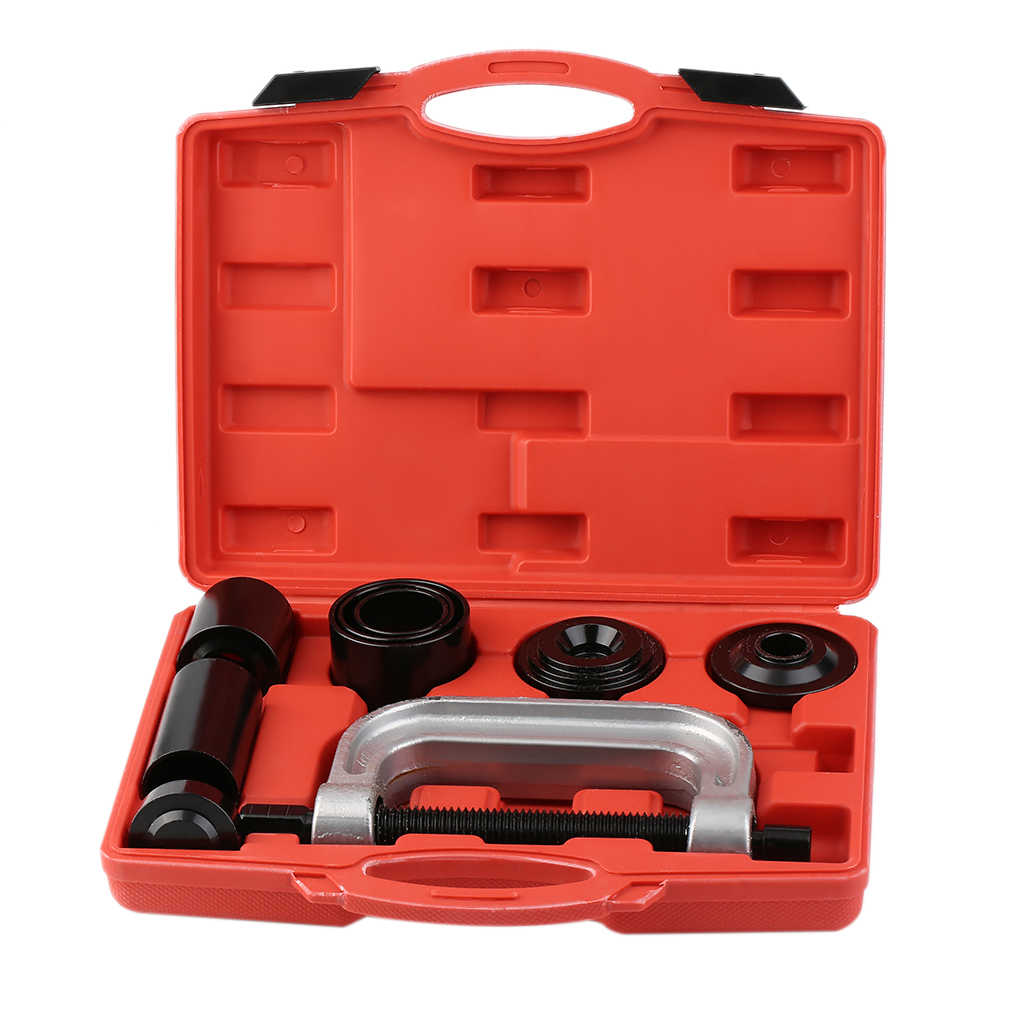 7pcs Ball Joint Auto Remover Installer Tool Service Kit 2WD & 4WD Vehicles Remover Install Tools Kit