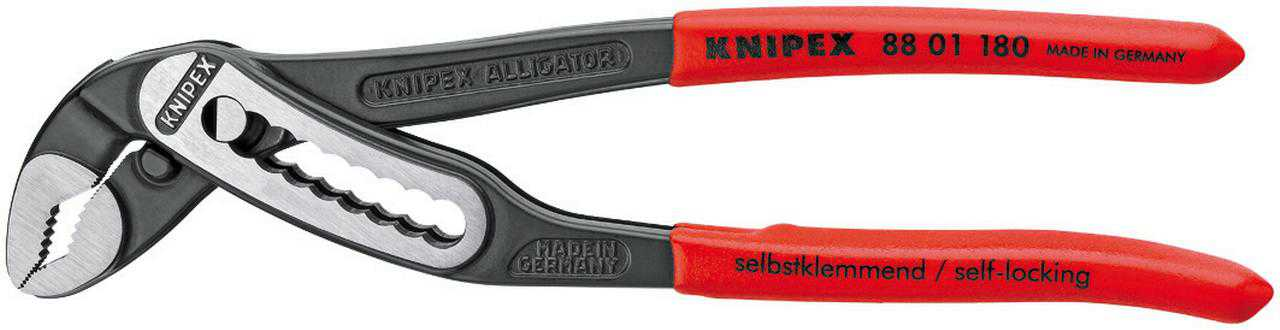KNIPEX Tools 88 01 180, 7-Inch Alligator Pliers