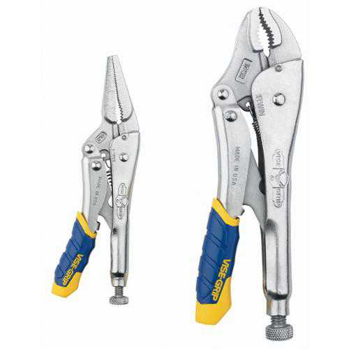 IRWIN Vise Grip 77T 2 Piece Fast Release Locking Plier Set