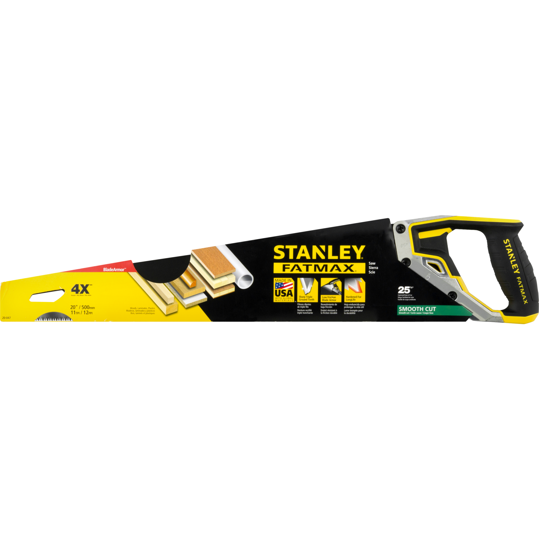 Stanley FatMax Smooth Cut Saw, 1.0 CT