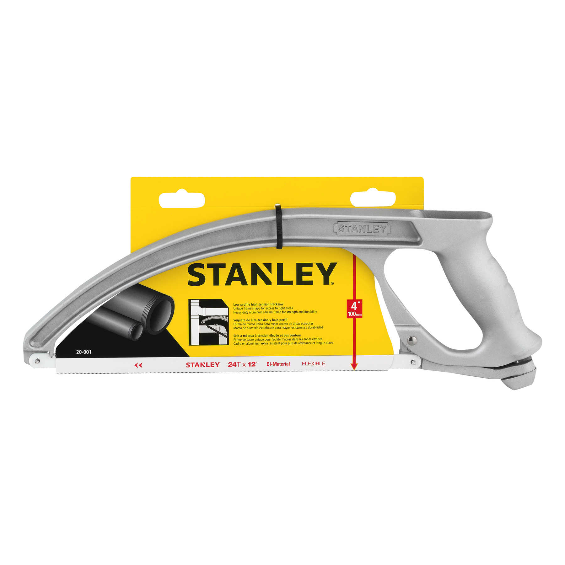 Stanley Low Profile High - Tension Hacksaw, 1.0 CT