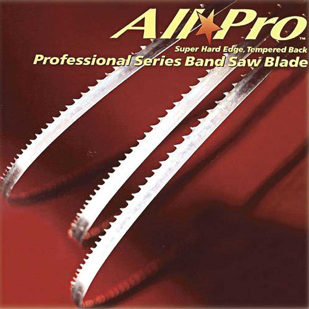 Olson Saw APG73105 1/4 by 0.025 by 105-Inch All Pro PGT Band 6 TPI Hook Saw Blade
