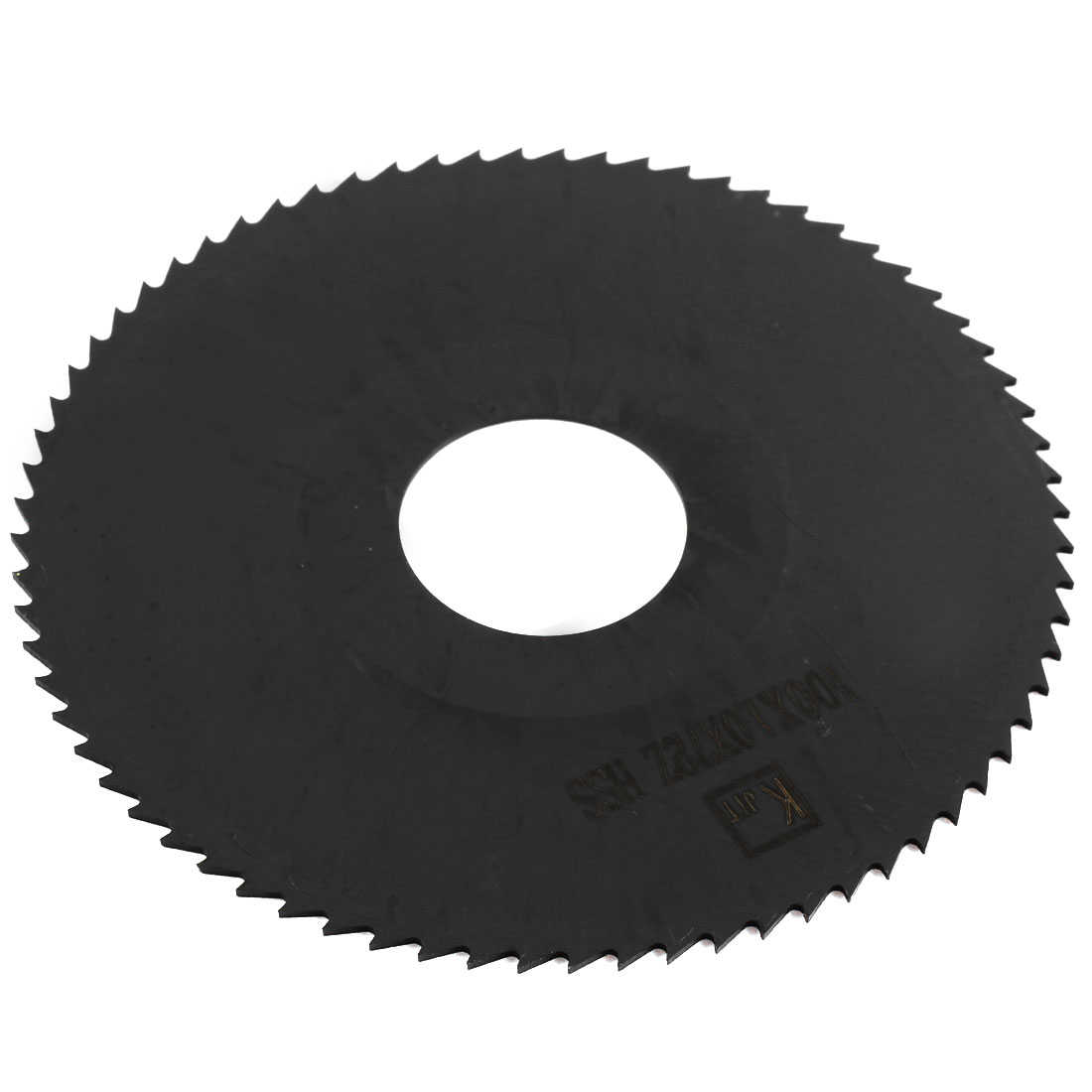Unique Bargains Black HSS 72 Teeth 100mm Dia 1mm Thickness Milling Cutter Slitting Saw
