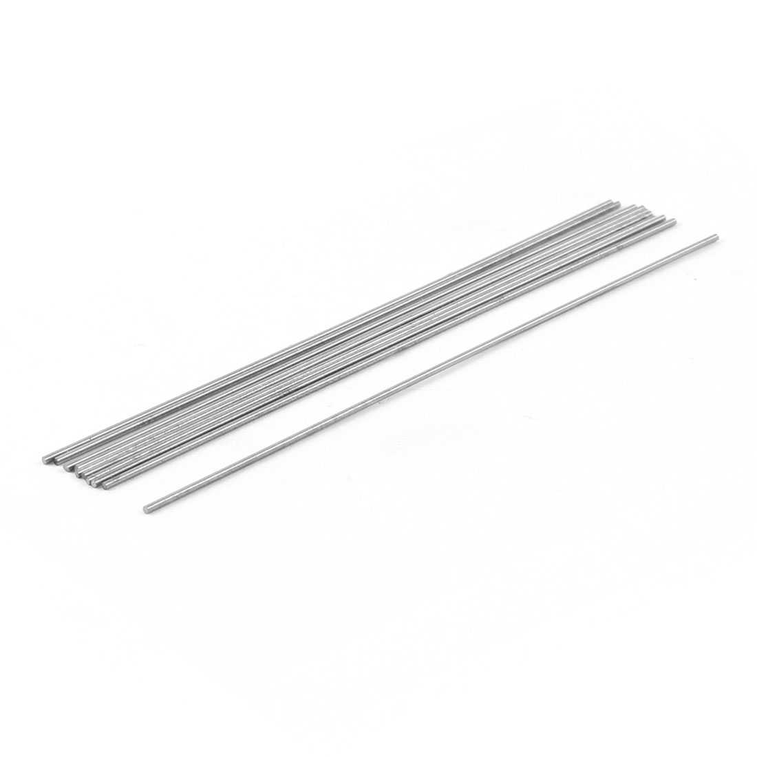 Unique Bargains 10 Pcs HSS High Speed Steel Round Turning Lathe Bars 1mm x 100mm