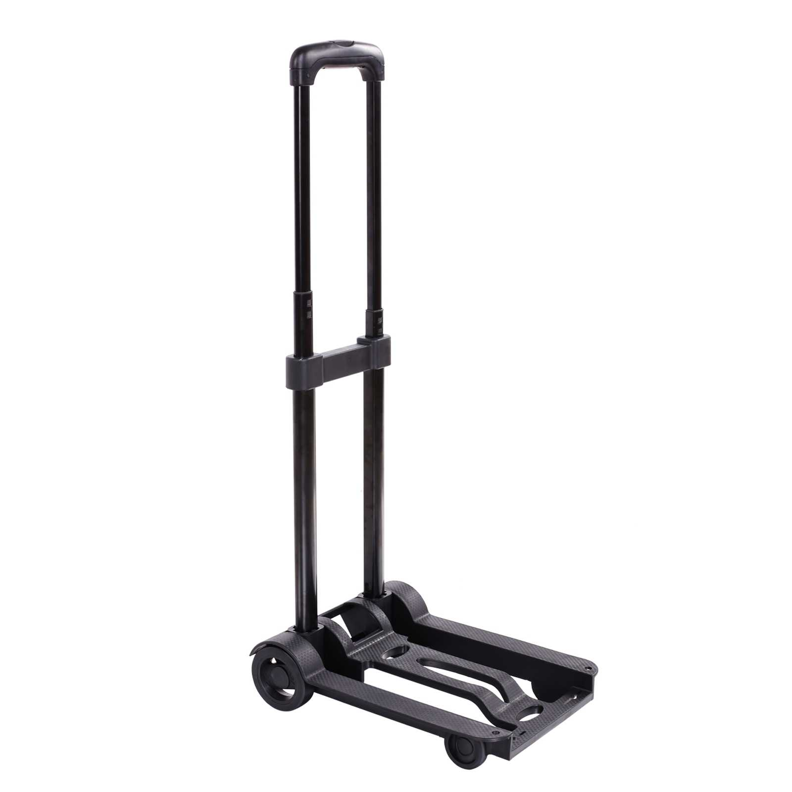 Folding Push Truck Trolley Luggage Flatbed Dolly Cart Portable Hand Collapsible Truck