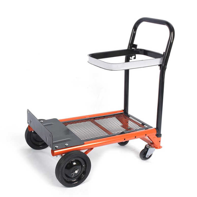 Heavy-duty Folding Sack Hand Truck Trolley 80 kg/176lbs Load Garden Platform Cart Barrow Dolly Home Garden Tool,Garden Platform Cart
