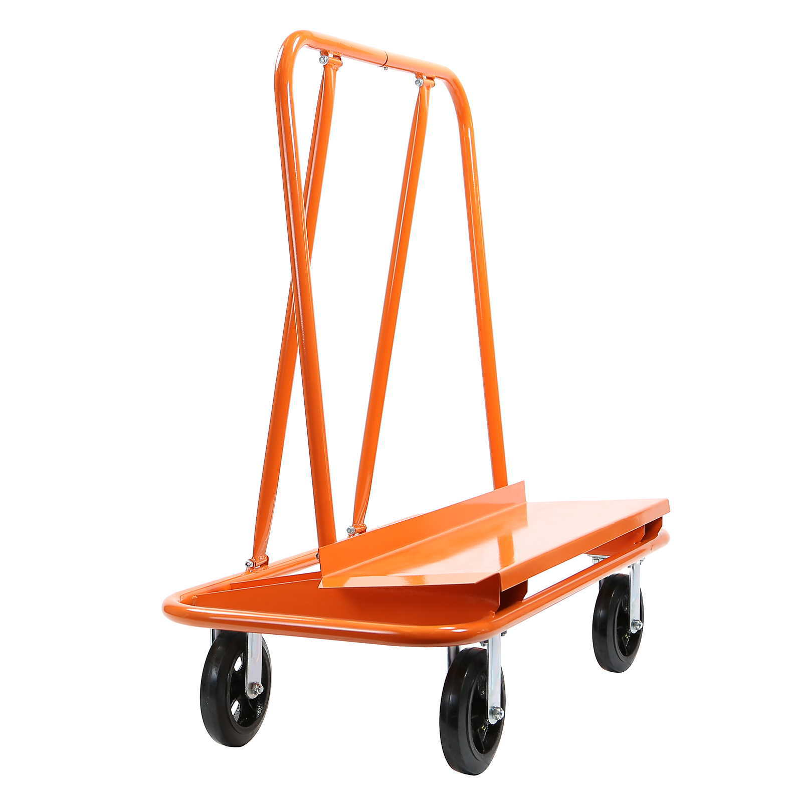 GypTool Heavy Duty Drywall Sheet Cart & Panel Dolly - Orange