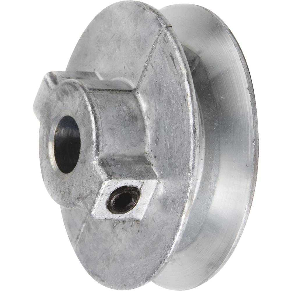 Chicago Die Casting 4' Single V Groove 3/4' Pulley
