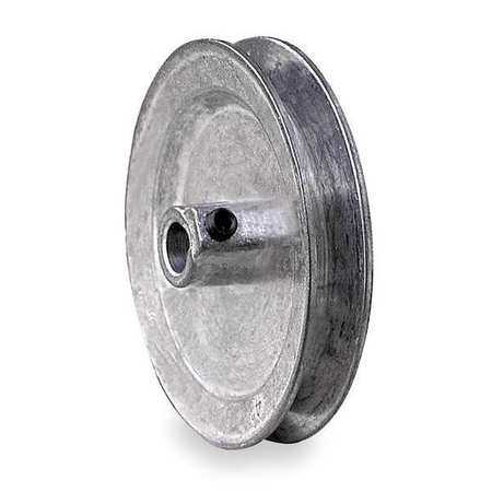 CONGRESS 7/8' Fixed Bore 1 Groove V-Belt Pulley 4' OD, CA0400X087KW