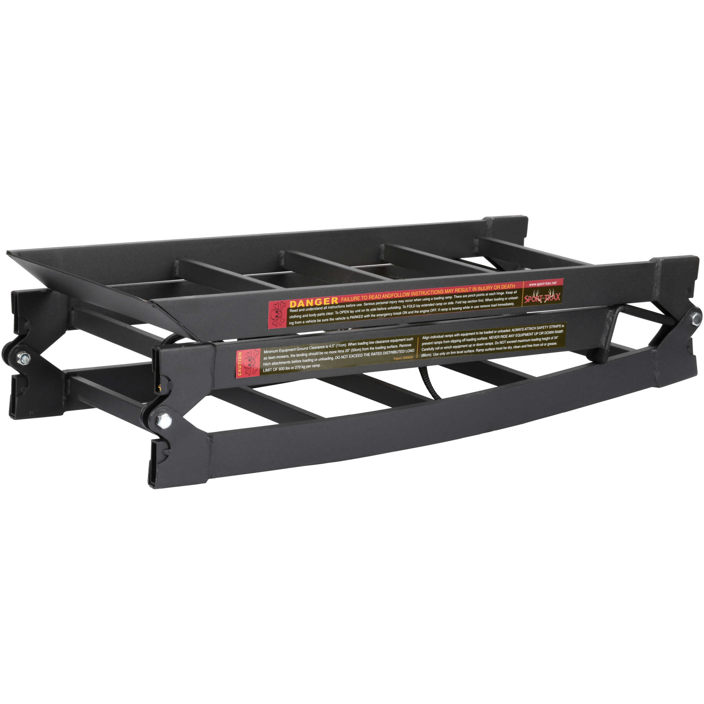 Traxion Truck Steel Ramp, Pair