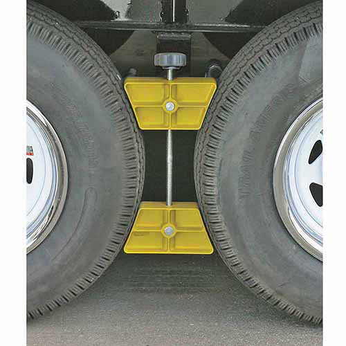 Camco RV Wheel Stop, Yellow