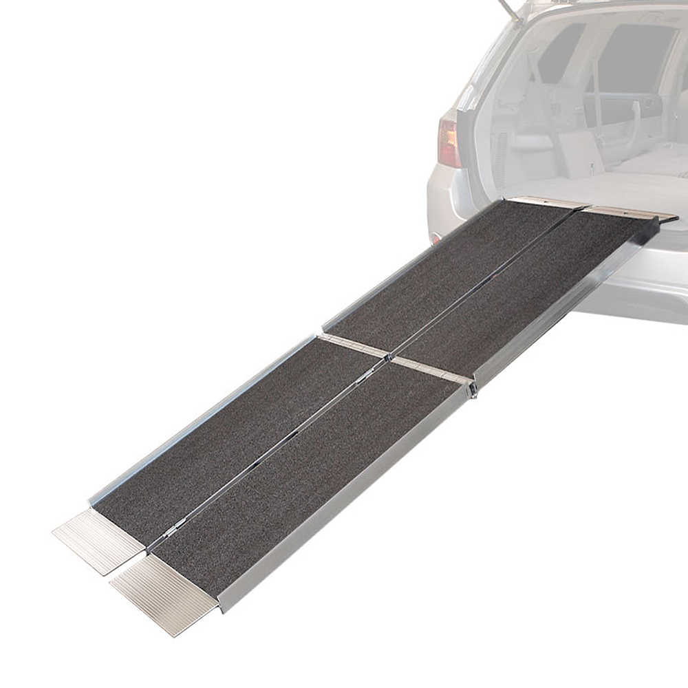 8' Tri-Folding EZ Wheelchair Loading Ramp