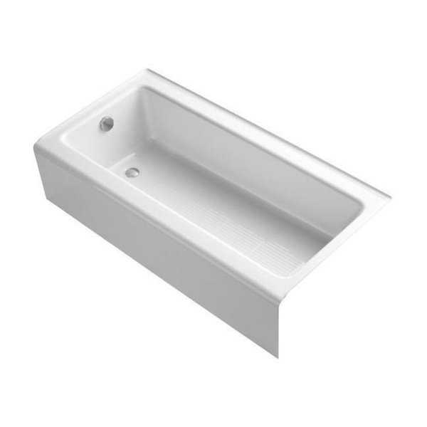 Kohler Bellwether 5 Foot Left Drain Bathtub with Integral Apron
