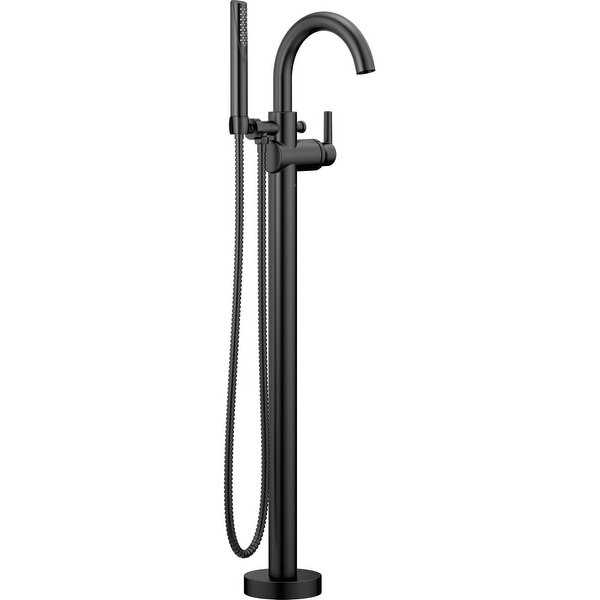 Delta T4759-FL Floor Mounted Tub Filler for Free Standing Tub with Personal Hand Shower - N/A