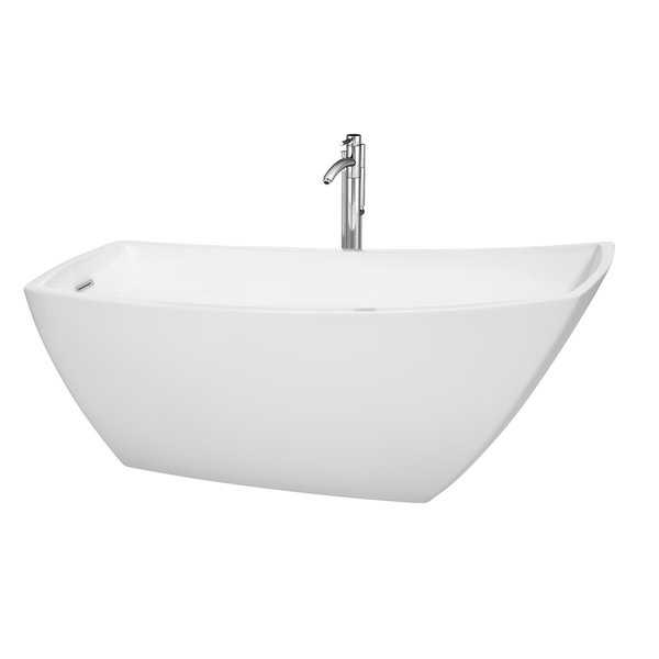Wyndham Collection Antigua 67-inch White