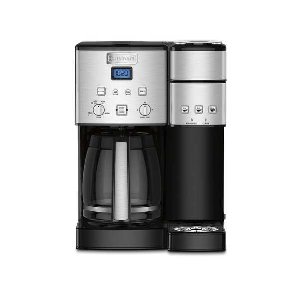 Cuisinart SS-15 Coffee Center™ 12 Cup Coffeemaker And Single-Serve Brewer, Stainless Steel