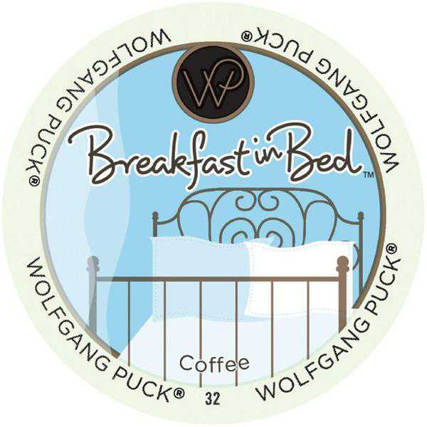 Wolfgang Puck Breakfast In Bed RealCup Portion Pack for Keurig Brewers