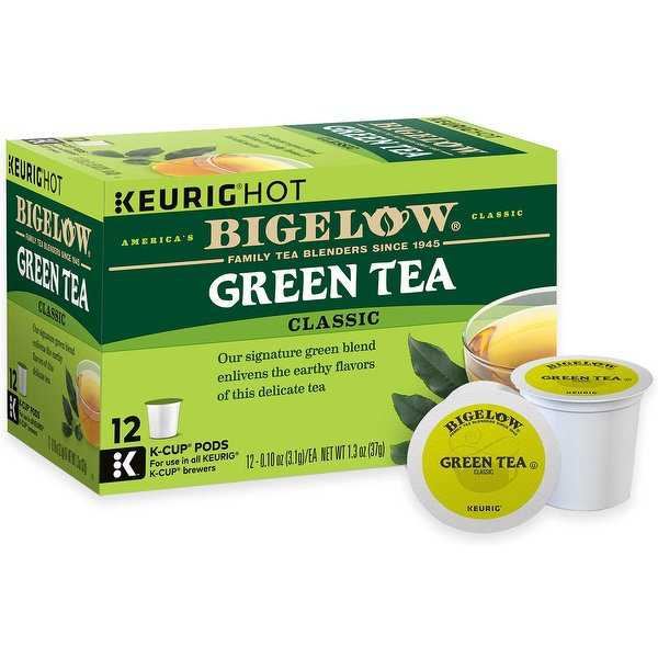 Keurig 119175 Classic Bigelow Green Tea K-Cup, 12/Pack